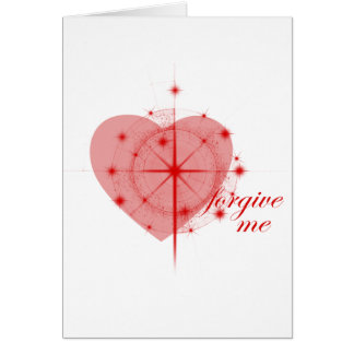 forgiveness heart card