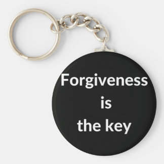 Forgiveness is the key keychain
