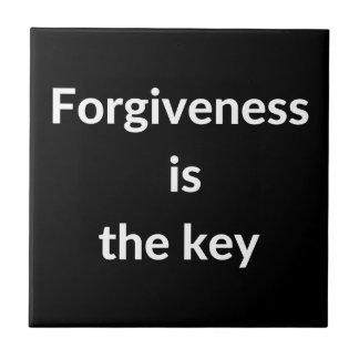 Forgiveness is the key tile