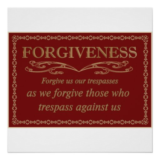 Forgiveness Posters