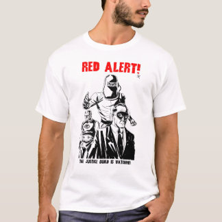 Forgotten 50s: Justice Guild- Red Alert! T-Shirt