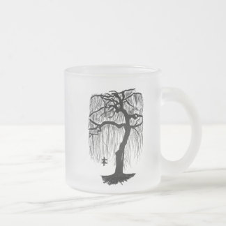 Forgotten Childhood Frosted Glass Coffee Mug