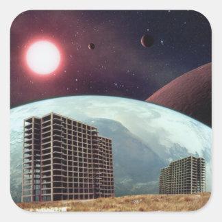Forgotten Colony Project Square Sticker