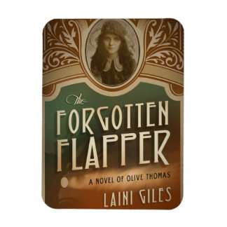 Forgotten Flapper photo magnet