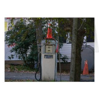 Forgotten Gas Pump Card