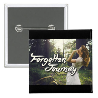 Forgotten Journey Banner (button) 2 Inch Square Button