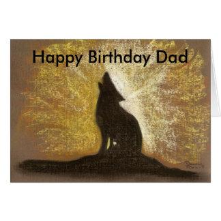 forgotton song  Happy Birthday Dad Card
