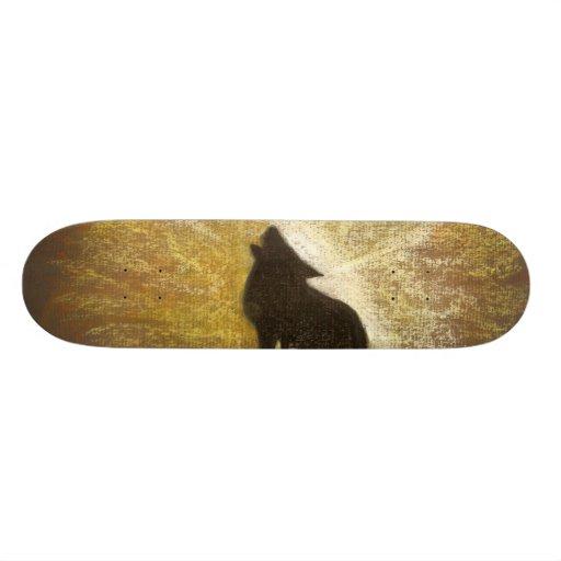 forgotton song custom skate board