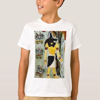 forheatanubis.jpg Anubis Egypt owls T-Shirt