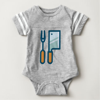 Fork and Cleaver Baby Bodysuit
