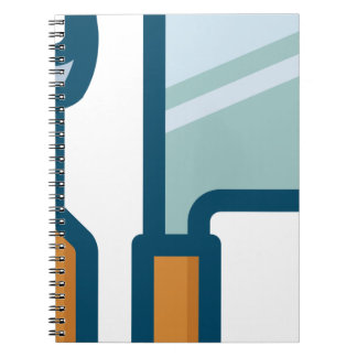Fork and Cleaver Notebook
