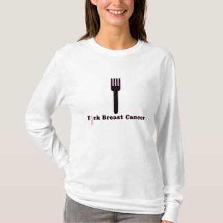 Fork Breast Cancer T-Shirt