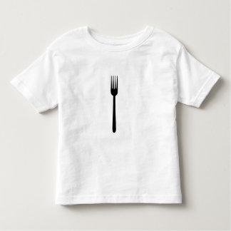 Fork Cutlery Silhouette Simple Art Foodie Love Eat Tshirts