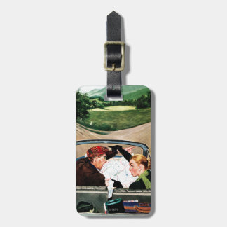 Fork in the Road Luggage Tag