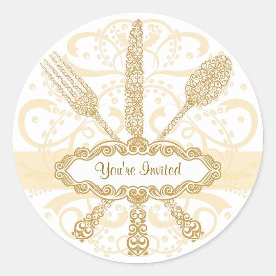 Fork Knife Spoon Sticker