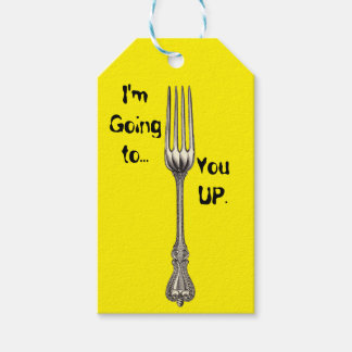 Fork Pack Of Gift Tags