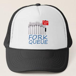 Fork Queue Trucker Hat