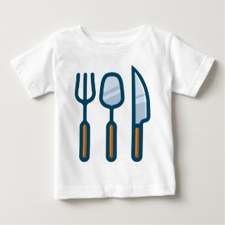Fork Spoon and Knife Baby T-Shirt