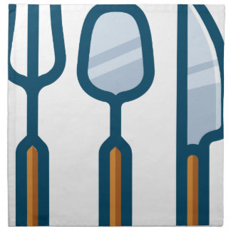 Fork Spoon and Knife Napkin