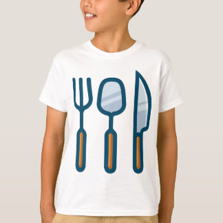Fork Spoon and Knife T-Shirt