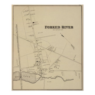 Forked River, New Jersey Poster