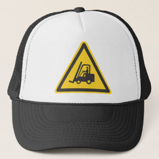Forklift Operator Driver Fun Warehouse Caution Trucker Hat