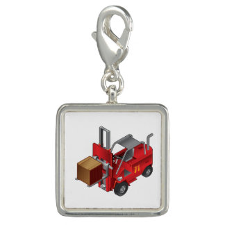 Forklift Truck Charm