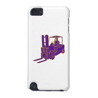 Forklift Truck Mono Line iPod Touch 5G Covers