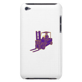Forklift Truck Mono Line iPod Touch Case-Mate Case
