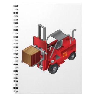 Forklift Truck Notebooks