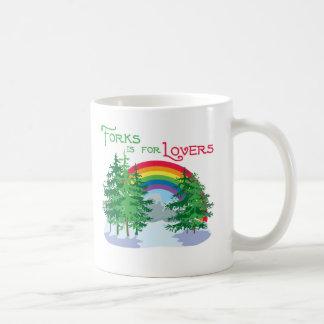 Forks Is For Lovers Mug