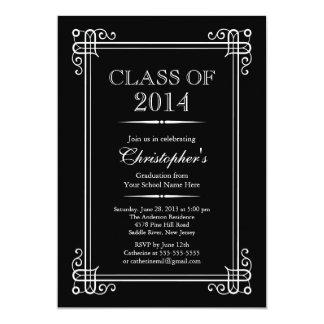 Formal Elegant Class of 2014 Graduation Party Card