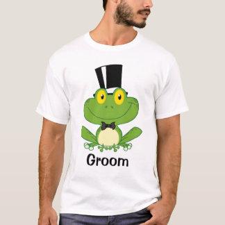 Formal Frog Groom Tee Shirt