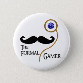 Formal Gamer Badge Pin