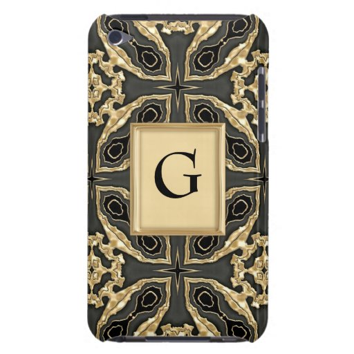Formal Gold Lace iPod Touch Cover