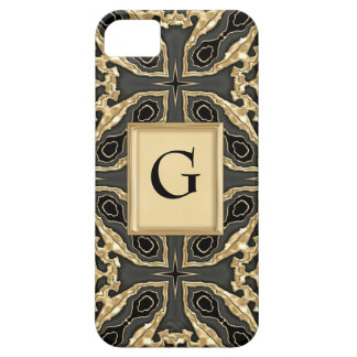 Formal Gold Lace iPhone 5 Case