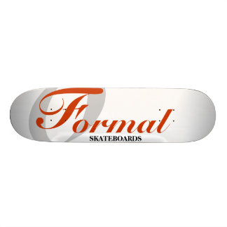 Formal logo custom skateboard