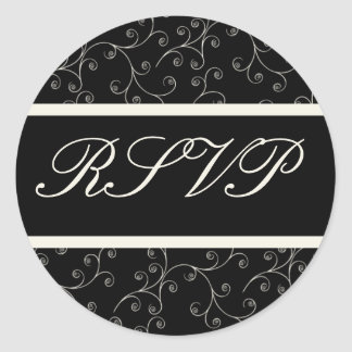 Formal RSVP Sticker