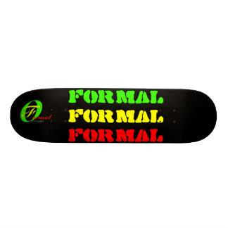 FORMAL SKATE DECK