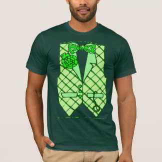 Formal St. Patrick's Vest T-Shirt