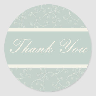 Formal Thank You Sticker