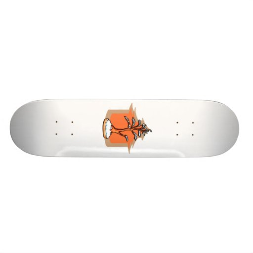 Formal Upright With House Snow Bonsai Graphic Skate Decks