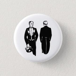 Formal Wear 1 Inch Round Button