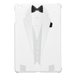 Formal White Mens' Tuxedo Suit iPad Case