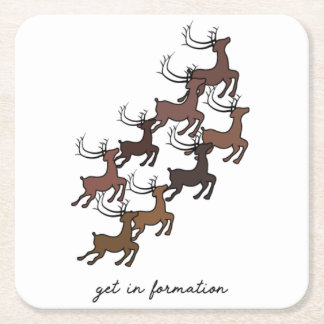 Formation Christmas Coasters