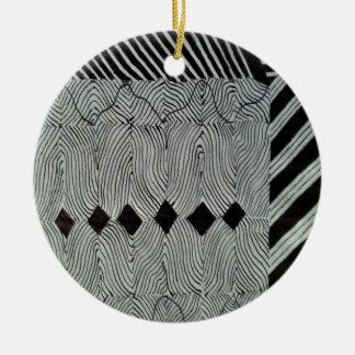 Formation of Diamonds Ceramic Ornament