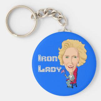 Former British Prime Minister Iron Lady THATCHER Keychain