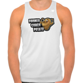 Former Couch Potato Exercise/Fitness Design Tank Top