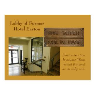 Former Hotel Easton Postcard