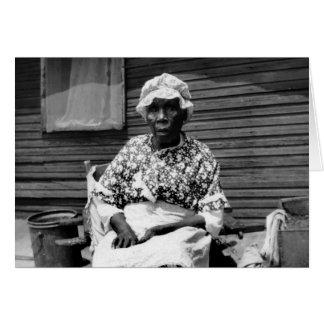 Former Slave Portrait 1930s Cards